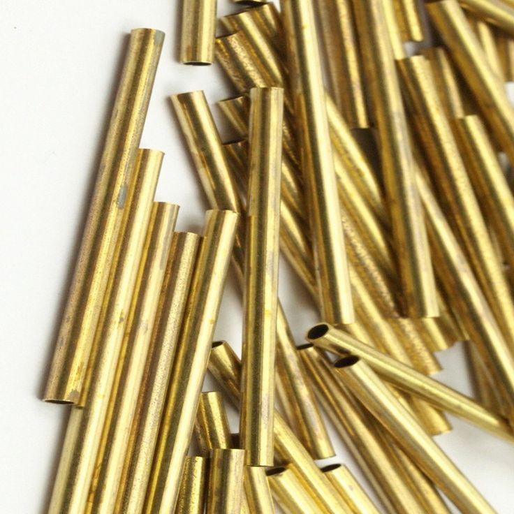 40pcs .. сырье Латунные Трубки (sz25x1.5mm) .. y0123(China (Mainland))