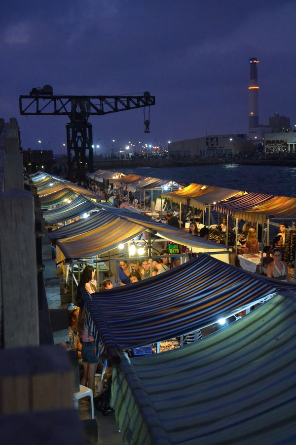 Street Market, Tel Aviv Yafo, Israel
