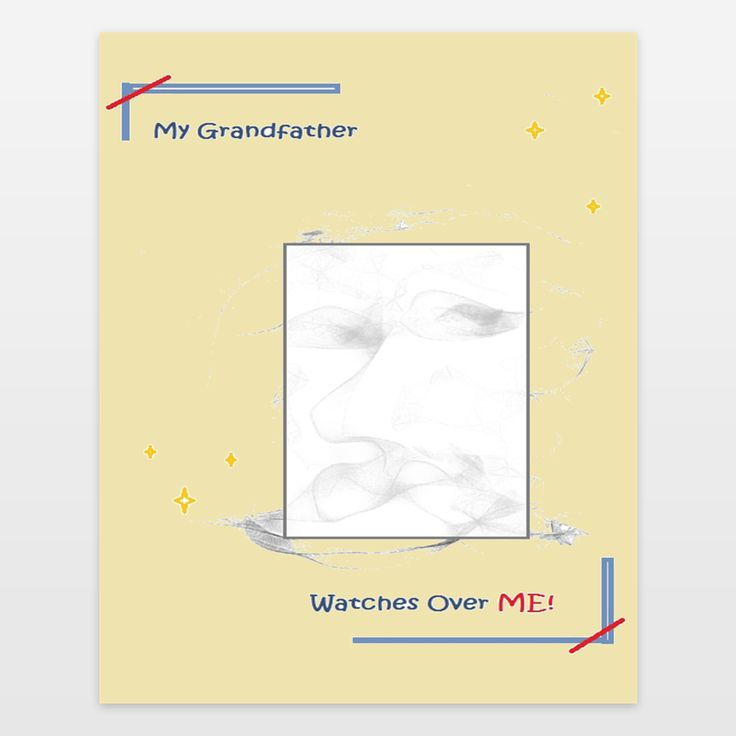 My grandfather watches over me is a very special image. No child should be without one. It is a very nice gift for that special child... By Tate Devros