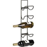 wine rack  crate and barrel5Bottl Wine, Wine Racks, Decor Ideas, Towels Holders, Crate And Barrel, Bar Accessories, Towels Racks, Crates And Barrels, Grier 5Bottl