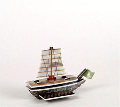 PotSCS 022 - Jade rebel ship Proud Tortoise