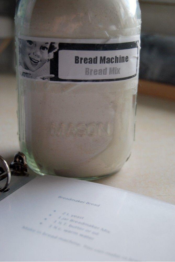 bread mixes for bread machine