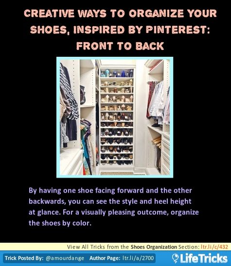 Shoe Organization Hacks: 17 Best Images About Organization