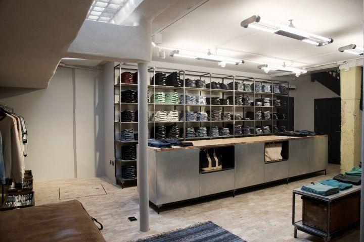 Nudie Jeans store Global Repair Station London 09