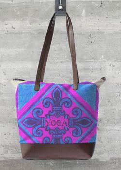VIDA Tote Bag - Kay Duncan Yoga 2 002 by VIDA fjYj50E