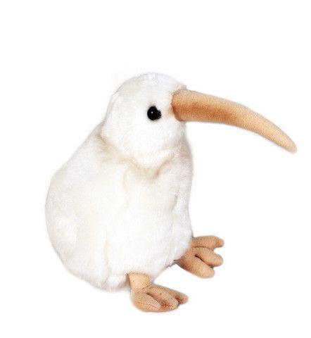 Manukura White Kiwi Soft Toy