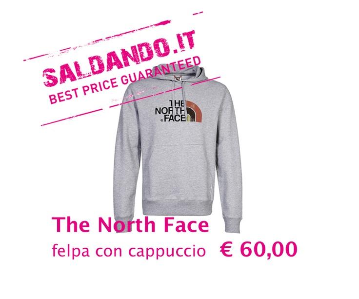 THE NORTH FACE felpa con cappuccio UOMO