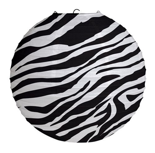 Chinese Lantern - Zebra