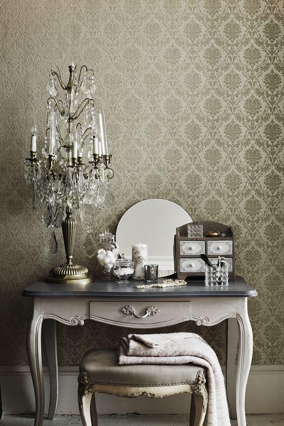 Interior Design Trends For 2016 Glamorous Vanity Sainsburyscouk