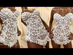 "Кружевной купальник ""Seashell"" от Olga Lace - YouTube"