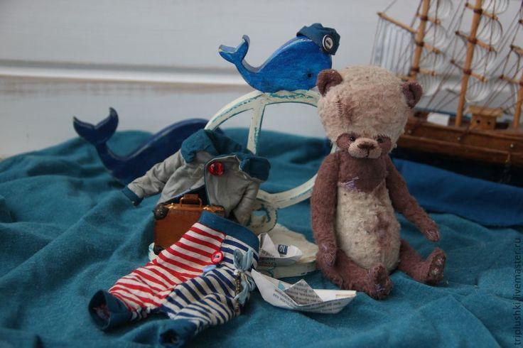 Бенджамин Б. - море,моряк,мечты,буква,мишка,тедди,мишка тедди,кит,история