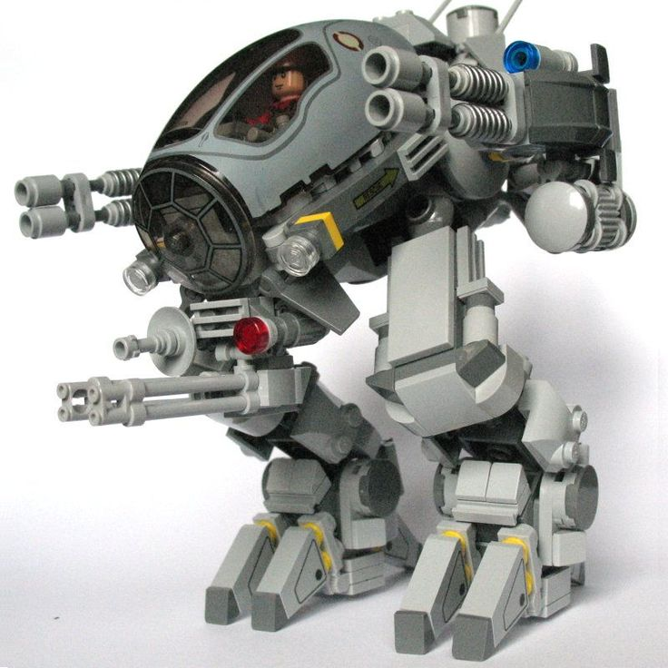 custom lego mech instructions