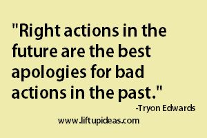 We all make mistakes and we do hurt others. It doesn't matter if we do it intentionally or unintentionally. What matters most is how sincerely we apologize to undo the negative effects of our mistakes.   Read More at www.liftupideas.com/sincere-apology-source-peace-comfort/