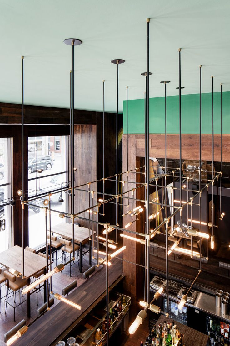 25 Best Ideas about Restaurant Lighting on Pinterest  Bar