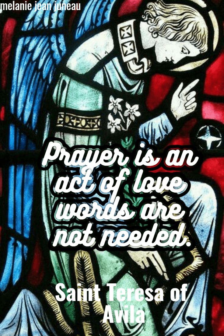 prayer is an act of love