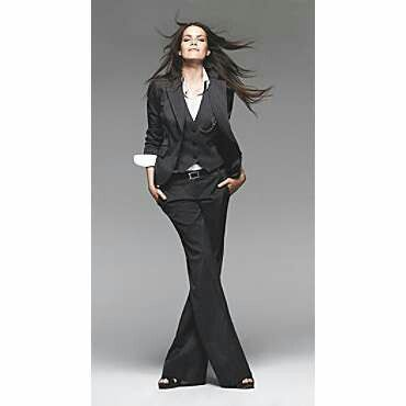Best 25  Black pant suit ideas on Pinterest | Suit design 2016 ...