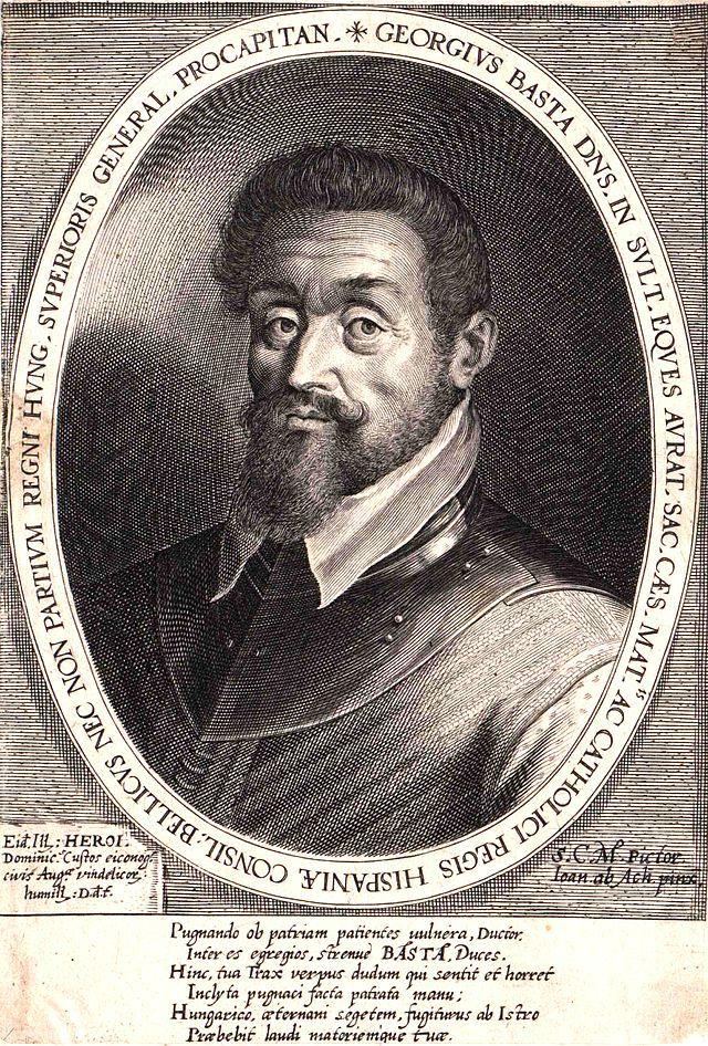Il conte Giorgio Basta è stato un generale e mercenario al servizio degli Asburgo.