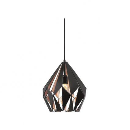 Carlton függőlámpa 1. réz – Függőlámpák - ID Design Kiegészítők - Lámpa