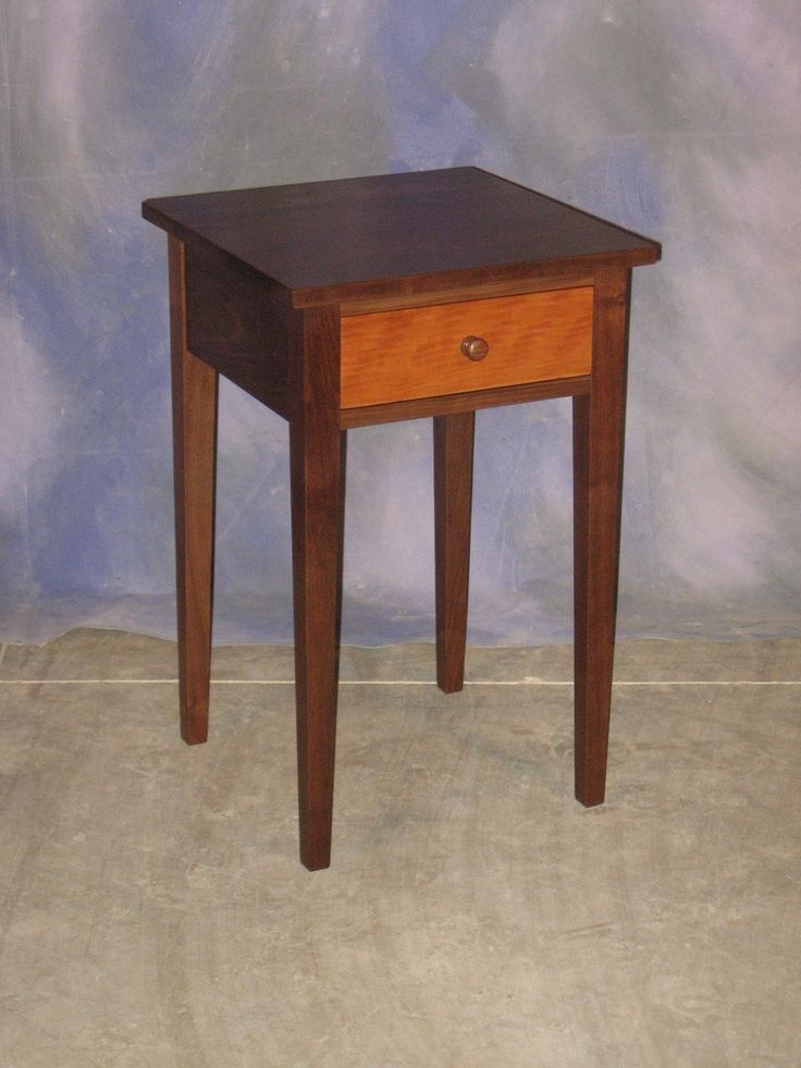 Free Shaker Night Stand Plans Woodworking Projects Amp Plans