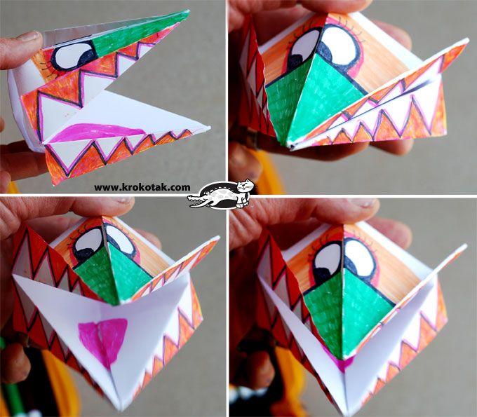 monster aus Papier