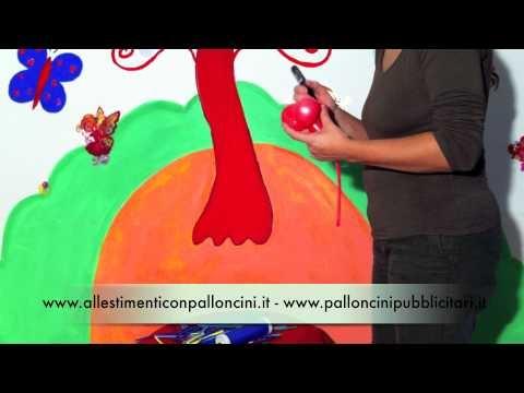 Sculture di palloncini: il topolino   Come usare i palloncini modellabili per creare un simpatico topolino  http://www.palloncinimodellabili.it/