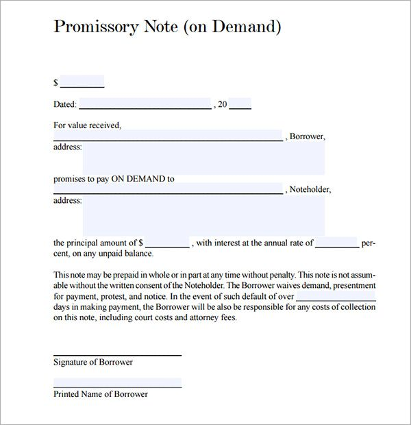 PROMISSORY NOTE - Yahoo Image Search Results imie Pinterest - sample promissory note