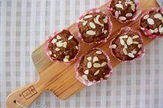 speculaas muffins - met banaan suikervrij www.puursuzanne.nl