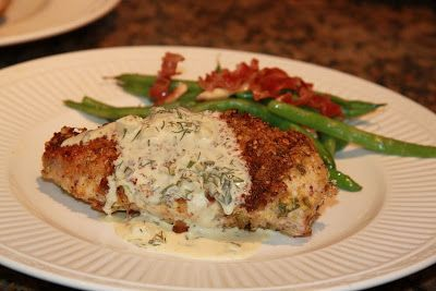 The Restaurant Club: it's about food, friends, discovery and new experiences: Pistachio Crusted Chicken with Herb & Mustard Cream Sauce