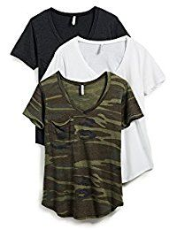 New Z SUPPLY Women's Camo Tee 3 Pack, Multi, X-Small online. Find the perfect Desigual Tops-Tees from top store. Sku RMVO48739VKBO89127