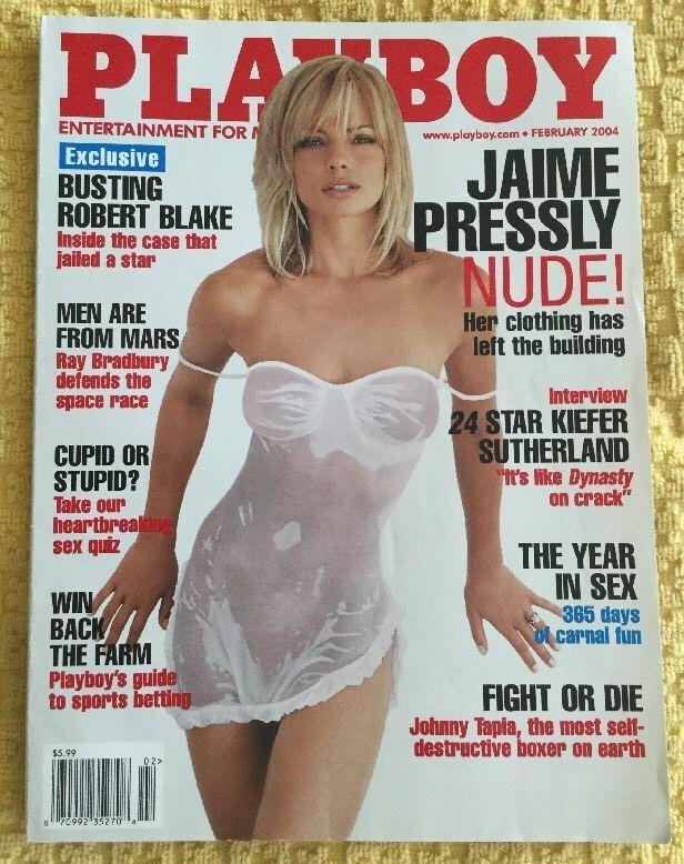Playboy Magazine, February 2004, Jaime Pressly, FREE SHIPPING | eBay