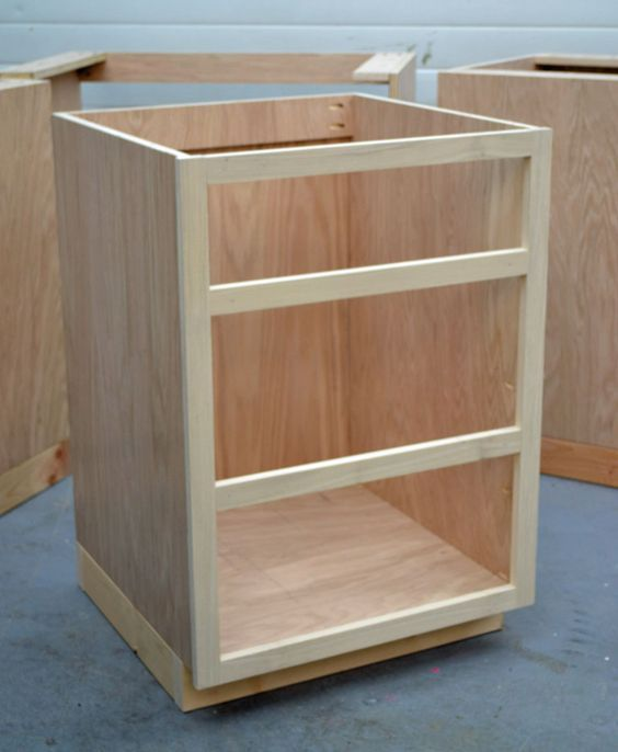 building kitchen base cabinets 101 good to know for custom kitchen island