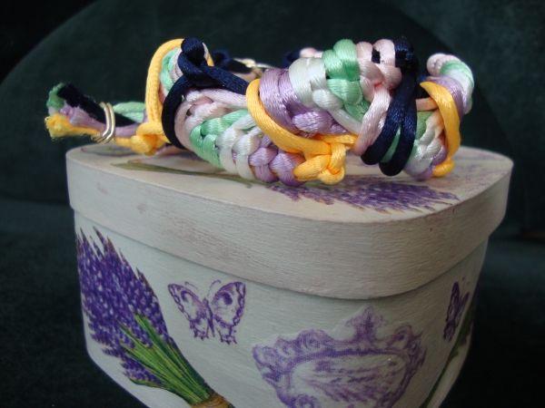 Плетёный браслет ручной работы (3005) | Оригинальные подарки на ЦЕХ32