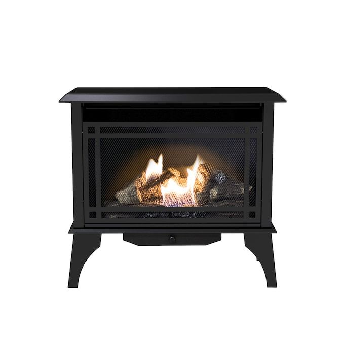 Pleasant Hearth 1000 Sq Ft Dual Burner Vent Free Natural Gas Or Liquid Propane Gas Stove Sold Separately Lowes Com Propane Gas Stove Gas Stove Natural Gas Stove