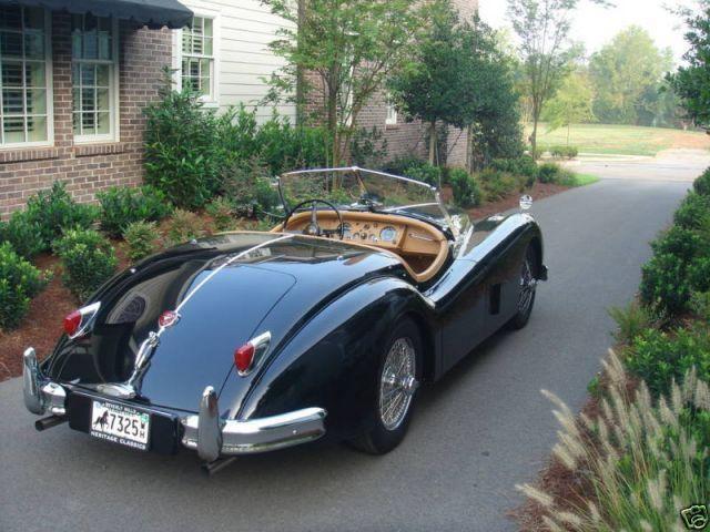 Vintage Jaguar XK 140