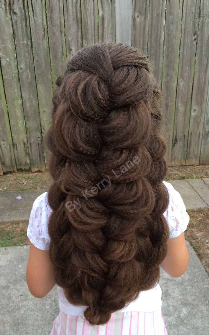 Expanded Triple French Braid