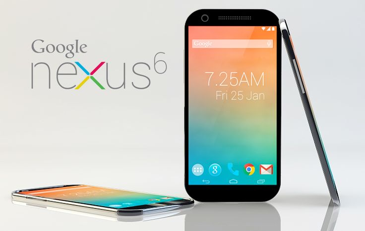 Google Nexus 6 Now Available for buy