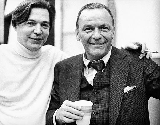 Frank Sinatra And Antonio Carlos Jobim In The Studio 1969 THE WEDDING DANCE SONG