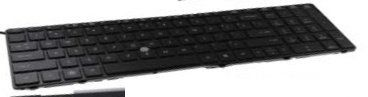 Buy HP 652682-001 Keyboard with pointing stick - Full-size keyboard with separate numeric keypad and TouchPad scroll zone - Includes pointing stick and pointing stick cable (United States) NEW for 81 USD | Reusell