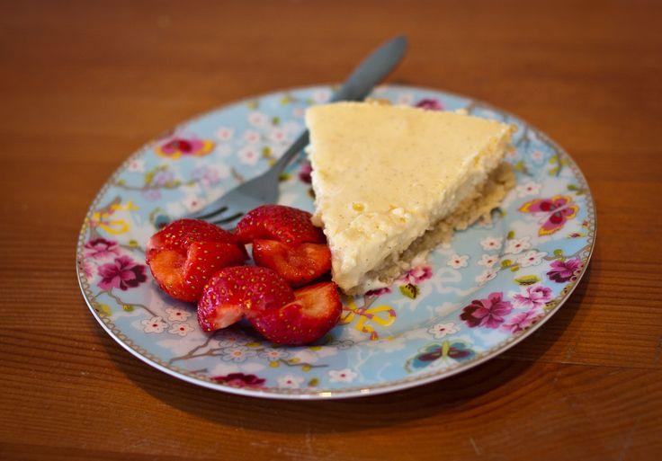 Recept voor gebakken cheesecake