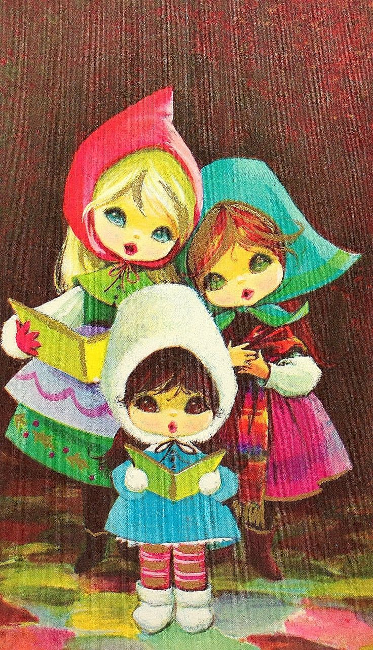 Christmas •~• vintage mod greeting card