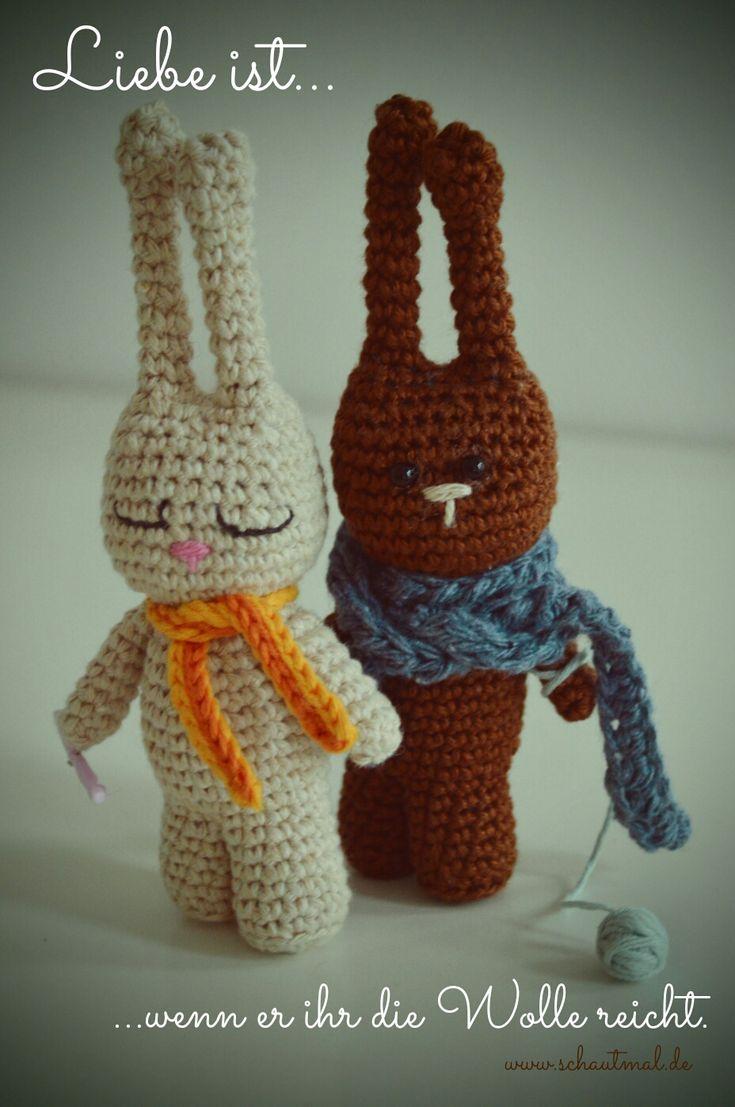 750 besten crochet bunnies Bilder auf Pinterest   Kaninchen ...