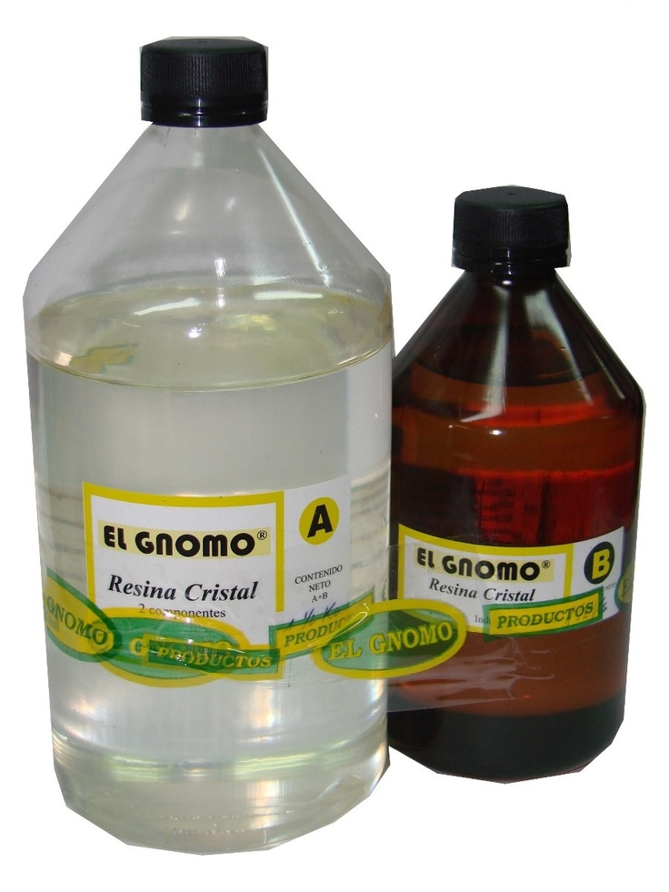 Resina Cristal Epoxi Vidrio Liquido Cristal Liquido X 750 Gr
