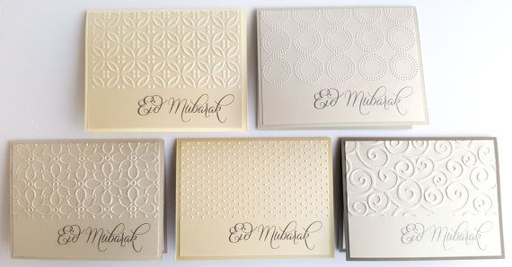 Check out this item in my Etsy shop https://www.etsy.com/ca/listing/467858703/set-of-5-eid-mubarak-cards-handmade