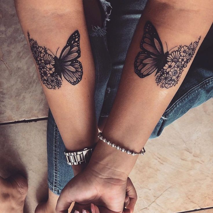Mine The Half Butterfly Half Flower His Half Butterfly Half Skull Butterfly Flower Skul In 2020 Tattoos For Daughters Best Tattoos For Women Butterfly Tattoo