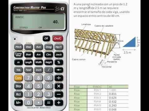 Dimensionamiento de Vigas para Construcción de Madera, Hierro o Acero