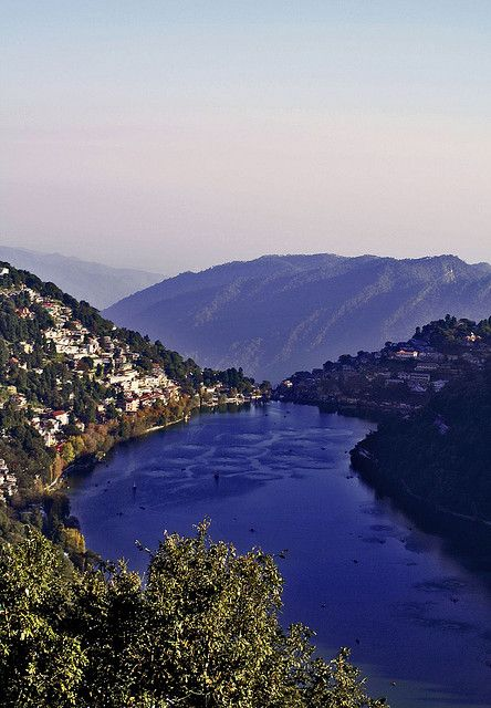 Lake Naini - Nainital, Uttarakhand, India.