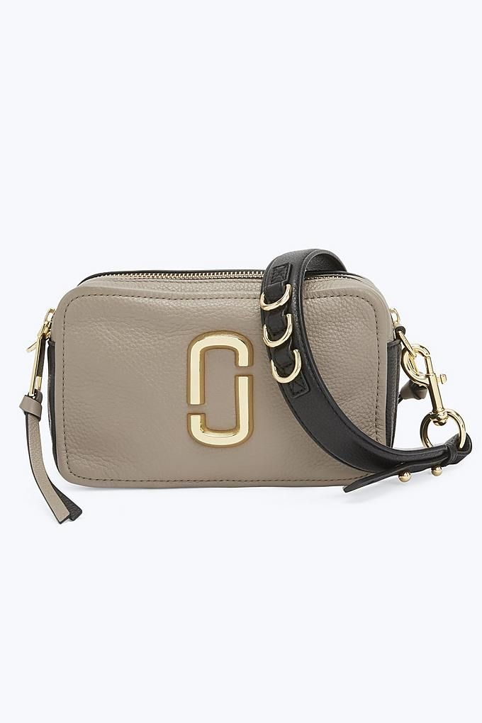 2039397504a62 Marc Jacobs The Softshot 21 in Cement Multi | Marc Jacobs Bags ...