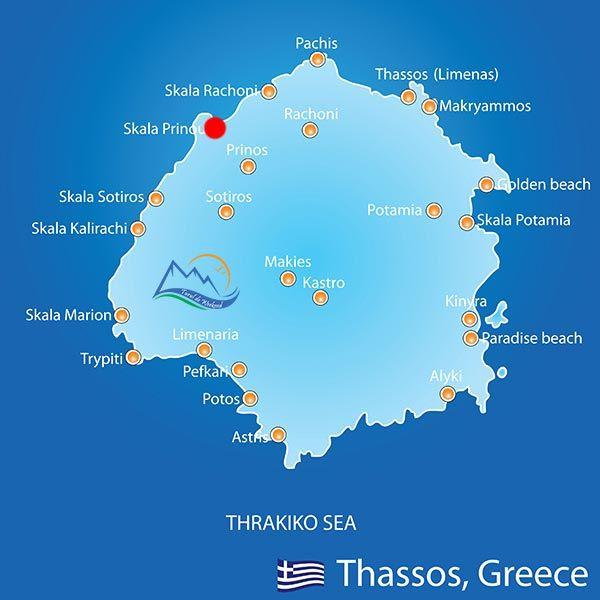 Skala Prinos - Ghid Turistic Grecia