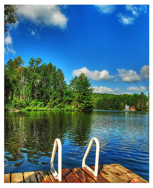Lake St. Peter is east of Algonquin Park on the western reaches of the Ottawa Valley. Photo by Rick Harris