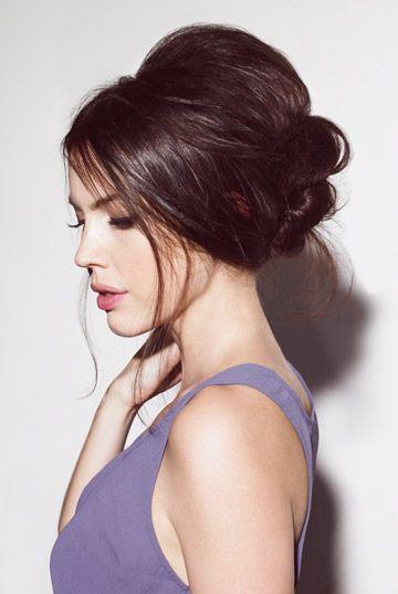 The ultimate party hairstyle - the sexy, messy updo!
